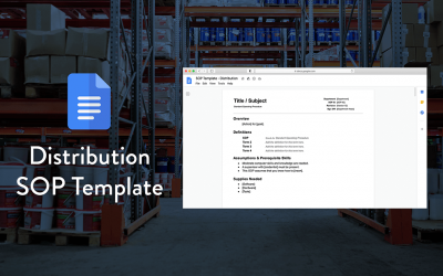 A Simple SOP Template For Distribution Centers